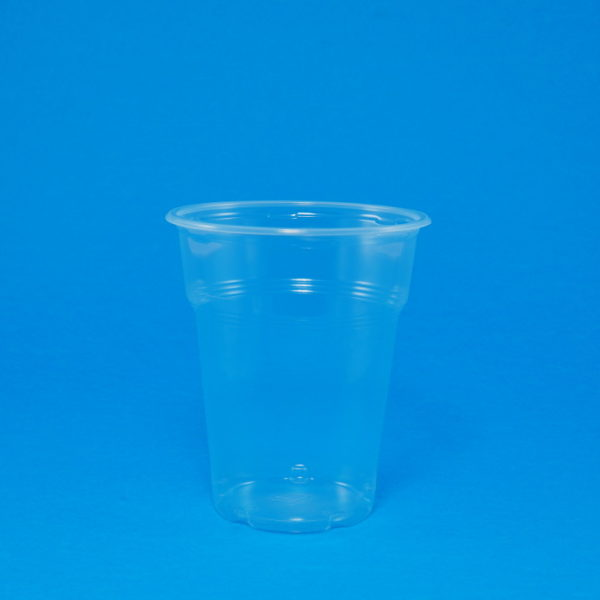 Cups Set PP 300ml + Lids (1