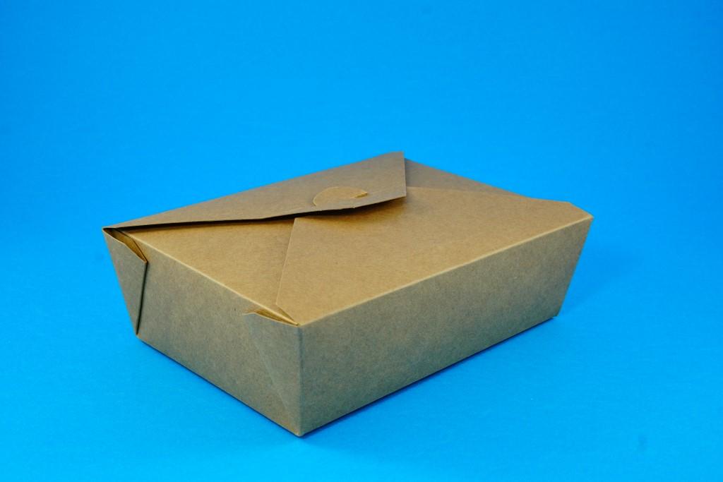 Kraft Deli Box No 3 (50 pcs)