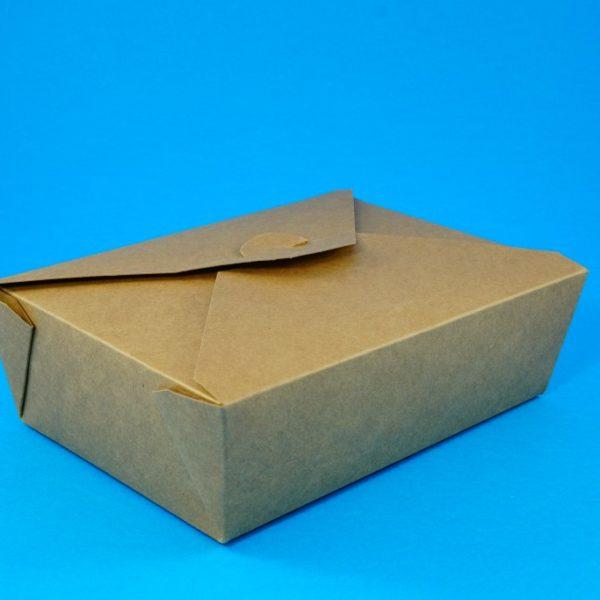 Kraft Deli Box No 4 (50 pcs)