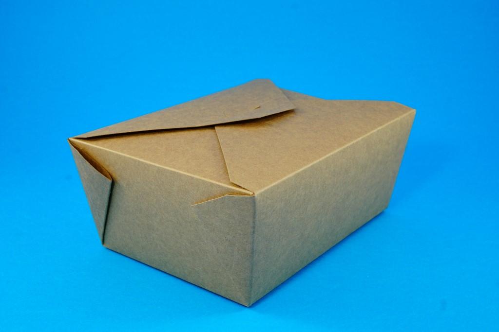 Kraft Deli Box No 8 (50 pcs)