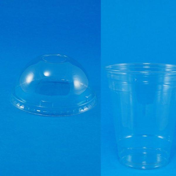 PET 12oz cups + lids - Set (1